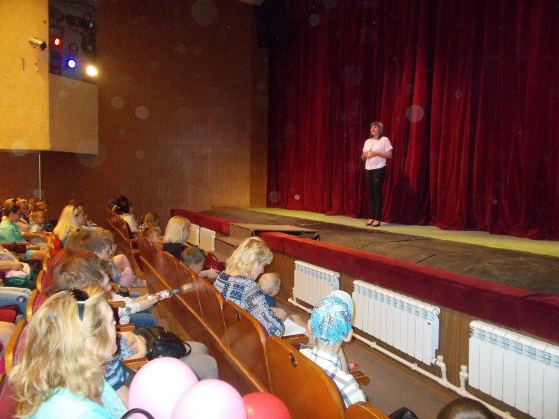 День защиты детей. С поздравлениями - замглавы района Наталия Авдеева