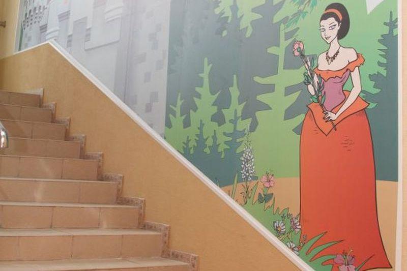 Лестница, ведущая в театр кукол